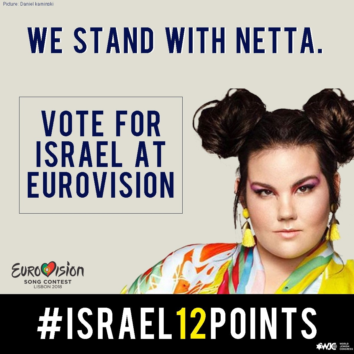 We stand with netta