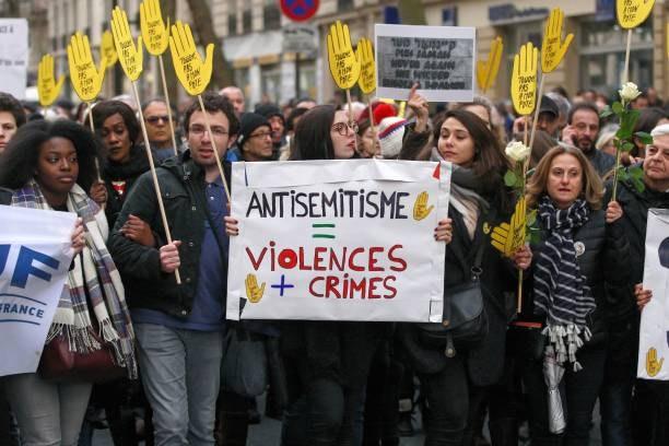 Anti semitism poster