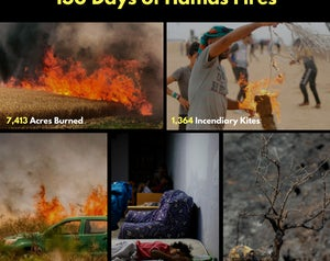 130 days of hamas fires  2