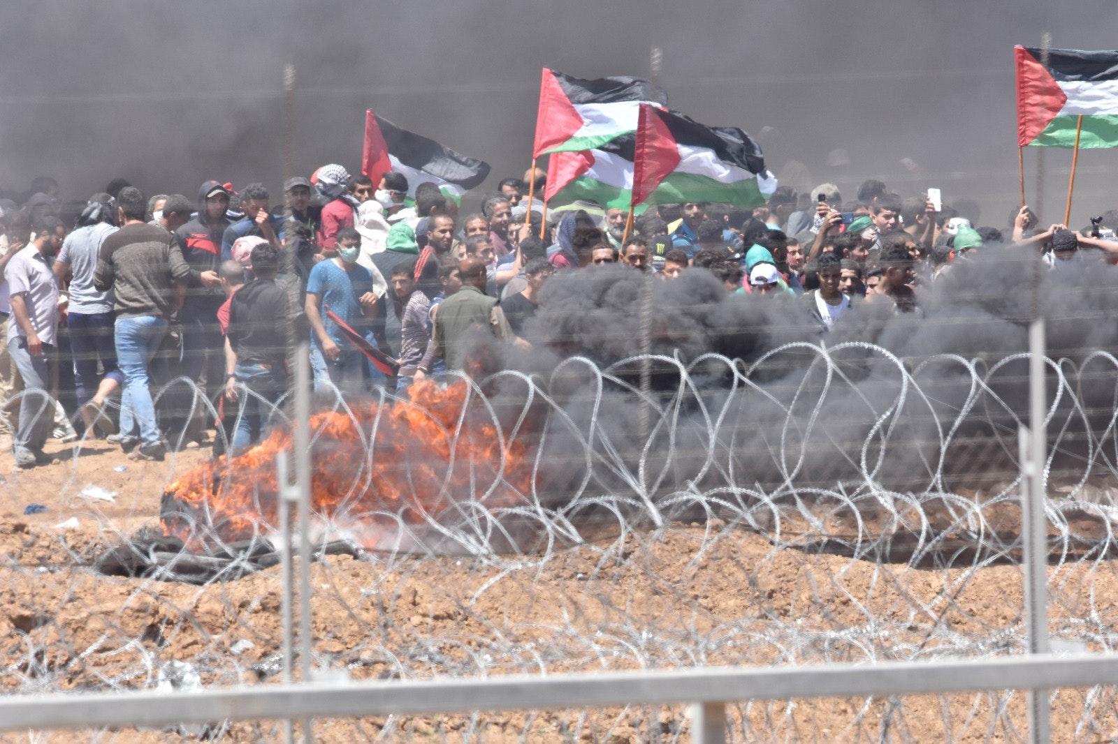Burning border 3