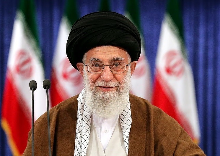Ayatollah ali khamenei casting his vote for 2017 election 3