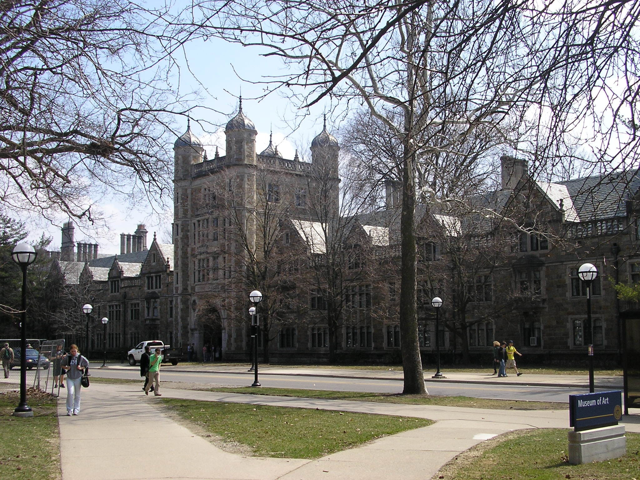 A picture of the university of michigan campus in ann arbor  michigan  usa