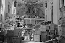 Looted art   german loot stored at schlosskirche ellingen   ellingen  bavaria   germany