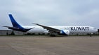 Kuwait airways boeing 777 300er  9k aoh  at london heathrow airport